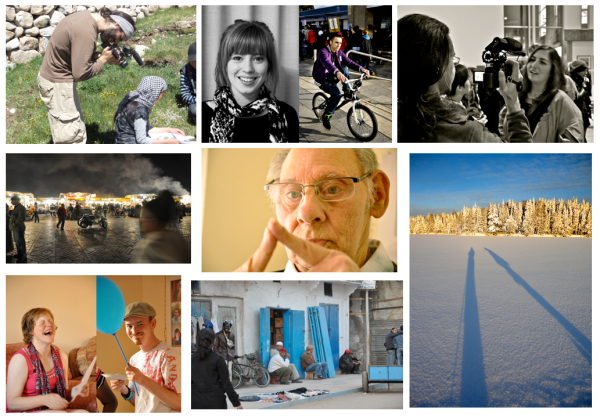 Compilation of photos from visual anthropology