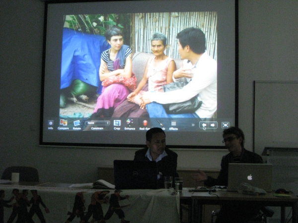 Nou Va and Ella Pugliese (film-makers) talk about the participatory process