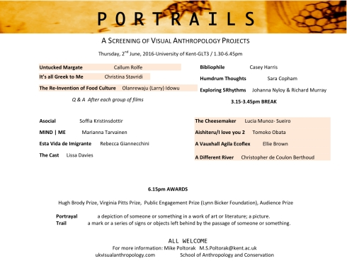 Portrails...2016